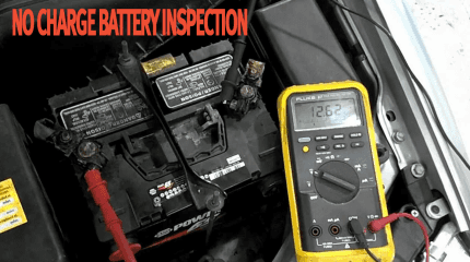 No Charge Battery Inspection