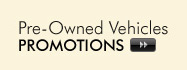 Used Vehicle Promotions